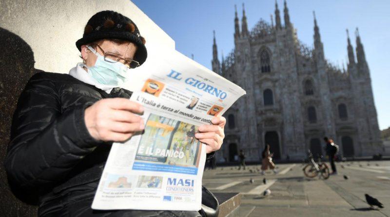 Liveblog | In totaal nu vijf dodelijke slachtoffers door COVID-19 in Italië