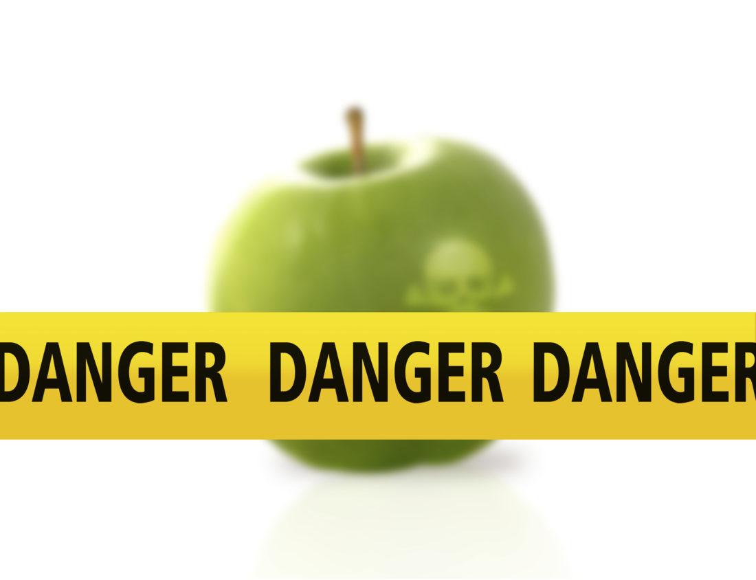 Vruchtensap teruggeroepen vanwege het hoge patulinegehalt