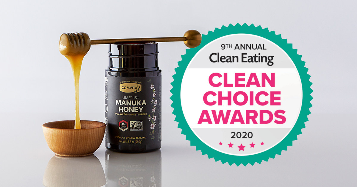 Comvita Bestverkopende, gecertificeerde UMF ™ 15+ Manuka-honing erkend als toonaangevend supplement in 2020 'Clean Choice Awards'