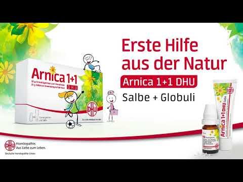DHU Arnica 1+1 – Erste Hilfe aus der Natur