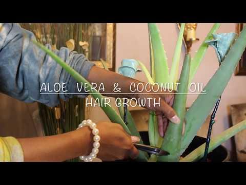 ALOE VERA & COCONUT OIL HAIR GROWTH