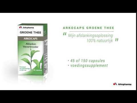Arkocaps Groene Thee Afslanken – Apotheek Online