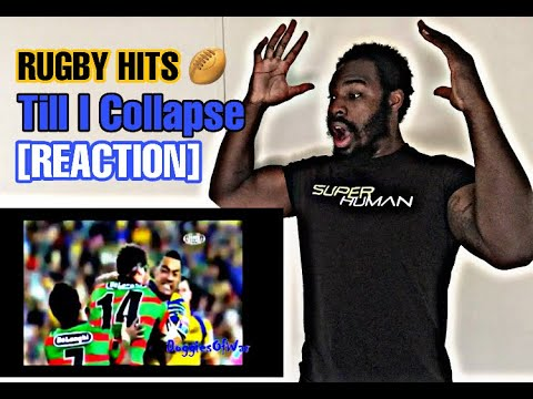 BLACK SUPERMAN [REACTS] TO RUGBY HITS: TILL I COLLAPSE
