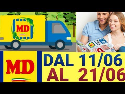 MD Volantino Dal 11 Giugno Al 21 Giugno 2020  MD Offerte   By Europe Village!!