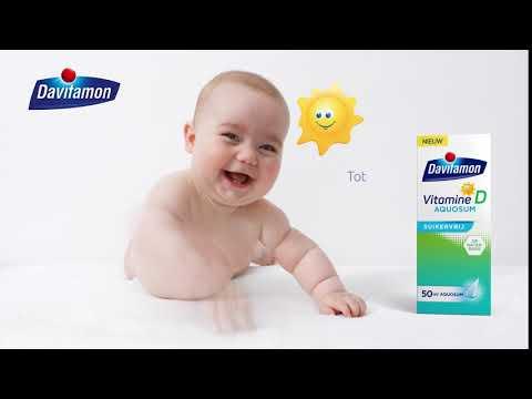 Davitamon Vitamine D Aquosum Suikervrij   Nieuw!