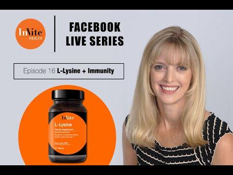 Invite Health Facebook Live 16: Lysine for Overall Wellness