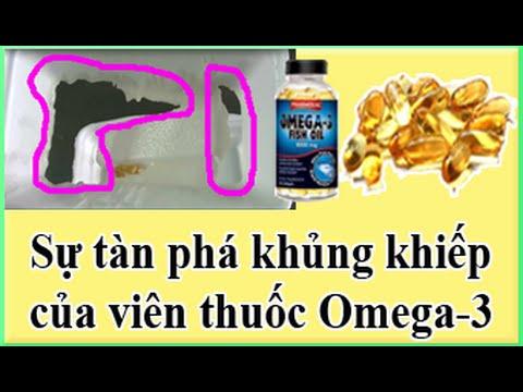 Sự tàn phá khủng khiếp của viên thuốc Omega-3. Cẩn thận khi sử dụng!