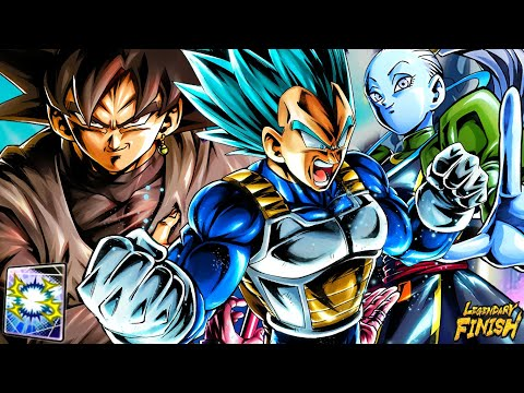 MONO GREEN GOD KI VS ZENKAI SSJ3 GOKU!? AMAZING DAMAGE! GRN VADOS & GOKU BLACK | Dragon Ball Legends