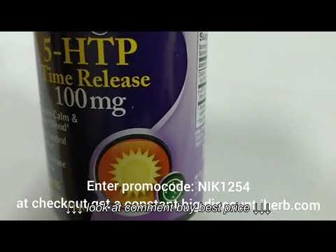 Natrol, 5 HTP, Time Release, Extra Strength iherb vitamin supplement