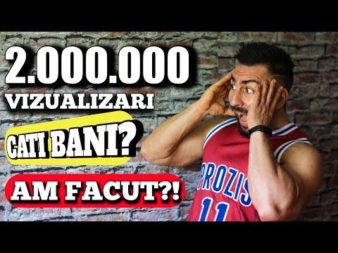 Cati bani am facut din 2.000.000 vizualizari? Cel mai bine platit video! Cate mii de euro fac?