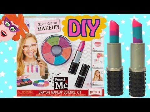 Project Mc2 make-upset met kleurkrijt (Crayon Makeup Science Kit)