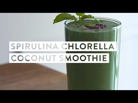 Spirulina Chlorella Coconut Smoothie Recipe | goop