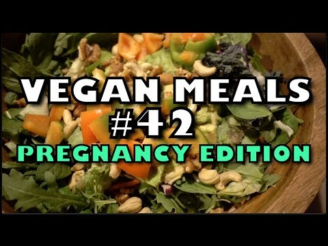 Vegan Meals of the Day #42 | Pregnancy Edition!