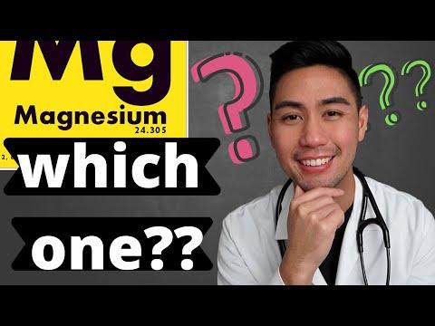 Wat is het beste magnesiumsupplement om in te nemen?