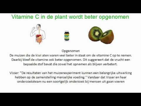 Vitamine C tegen Kanker