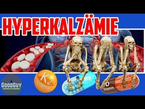 Hyperkalzämie-zuviel Kalzium im Blut!Kalzifizierung ist der wichtigste Maker für Herzkreislaufleiden