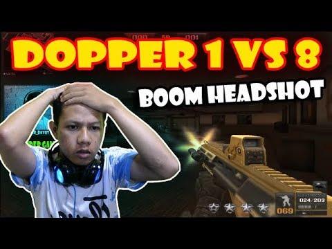 Reaction DOPPER !! AUG Boom Headshot (1vs8) – Point Blank Thailand