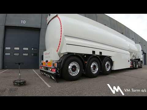 VM Tarm detalje video – 43.000 liter olie-/benzintank-semitrailer til Midtsveen Tanktransport AS.