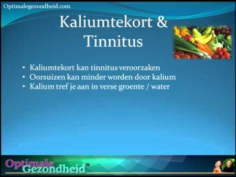 Kaliumtekort & Tinnitus