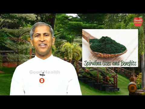 Benefits of Spirulina in  Telugu by Dr manthena Satyanarayana Raju