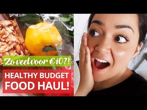 Healthy Budget Food Haul – Zoveel krijg je voor €10! + Heerlijk gezond recept