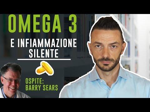 OMEGA 3 E INFIAMMAZIONE SILENTE – ospite: Barry Sears, inventore della dieta a zona