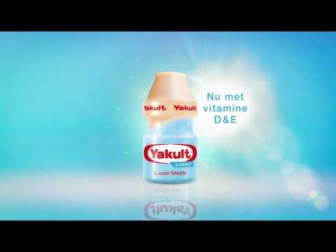 Yakult Light nu met vitamine D & E