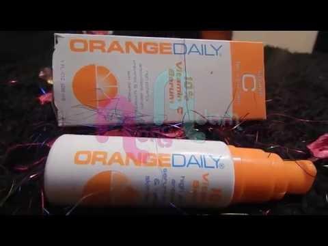 تجربتى مع سيروم فيتامين سى من اورانج ديلى serum vitamine c orange daily بالاشتراك مع قناة شيماء بيوت
