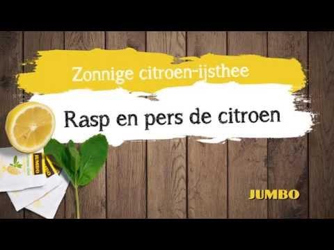 Receptvideo: Zonnige citroen-ijsthee
