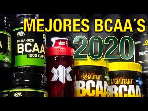 LOS MEJORES AMINOS del 2020 I TOP 5 BCAA´S 2020 I 💪💪🍗🍗