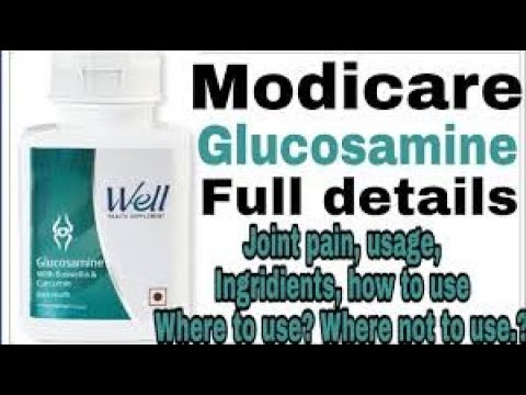 #MODICARE WELL GLUCOSAMINE -TAMIL