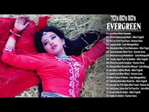 Hindi Songs Unforgettable Golden Hits//Romantic old Songs//Alka Yagnik Kumar Sanu Lata Mangeshkar
