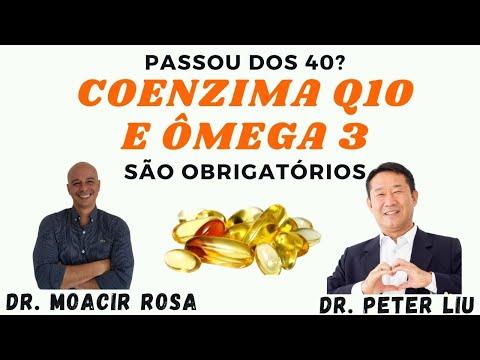 PASSOU DOS 40? COENZIMA Q10 e ÔMEGA 3 São Obrigatórios || Dr. Moacir Rosa e Dr. Peter Liu
