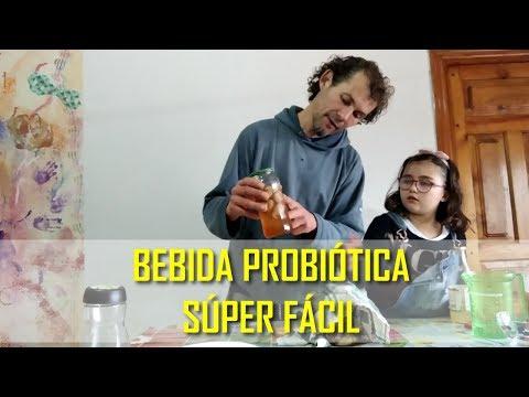 Bebida Probiótica súper facil de hacer en casa