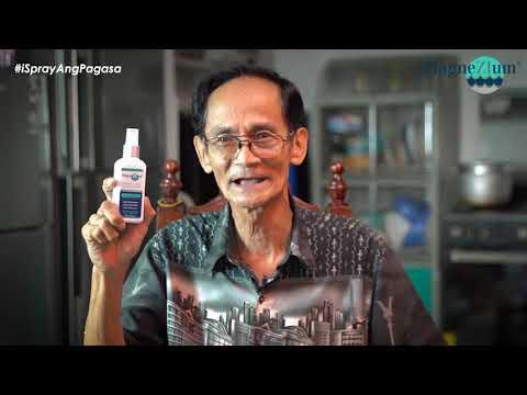 Pinaka The Best Ang Natikman Kaginhawahan Ni Camilo Sa MagneZIum ® – Magnesium Oil Body Spray
