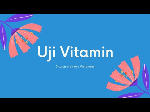 Uji Vitamin C   4001418009-Ayu Wulandari