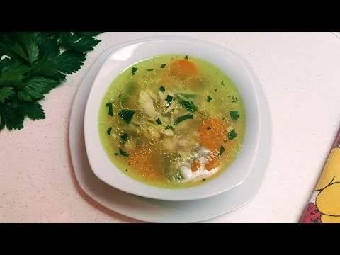 Healthy Chicken Soup / Zdrava pileshka supa