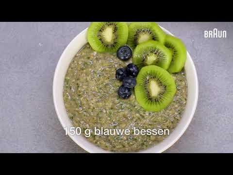 Recept Braun | Groene smoothie bowl