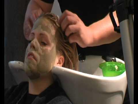 Naveoli – Hårmaske og ansigtsmaske af ler hos din frisør-2.avi