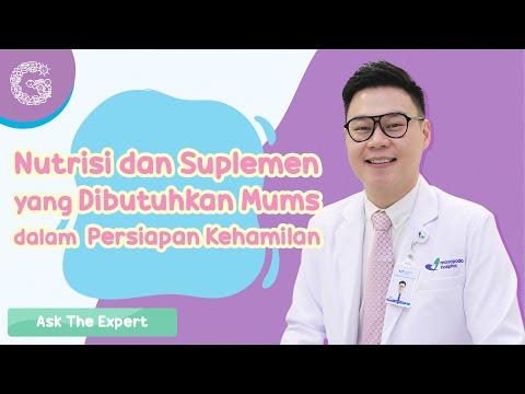 Nutrisi dan Suplemen yang Dibutuhkan Mums dalam Persiapan Kehamilan –  dr. Darrell Fernando, SpOG