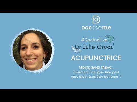 L'Acupuncture pour arrêter le tabac ? Avec Dr Julie Grau, Acupunctrice | Doctoome