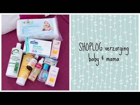 Baby Shoplog ♡ Verzorging (baby en mama)