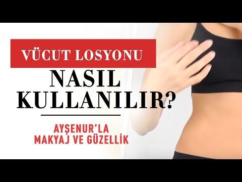 Vücut Losyonu Nasıl Kullanılır? – Ayşenur'la Makyaj ve Güzellik