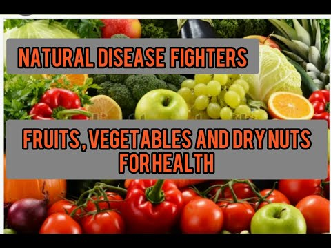 Natural disease fighters/cancer- fighting/fruits/vegetables/dry nuts/for health/Jeeja's kitchen/…