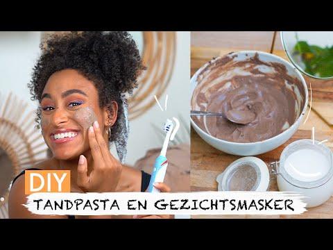 DIY TANDPASTA + GEZICHTSMASKER | Coeshi Vanderpuye