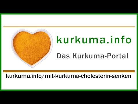 Mit Kurkuma Cholesterin senken