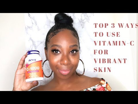 TOP 3 Ways To Use Vitamin-C To Dramatically Boost the Luminosity in your SKIN  Melynated Muse