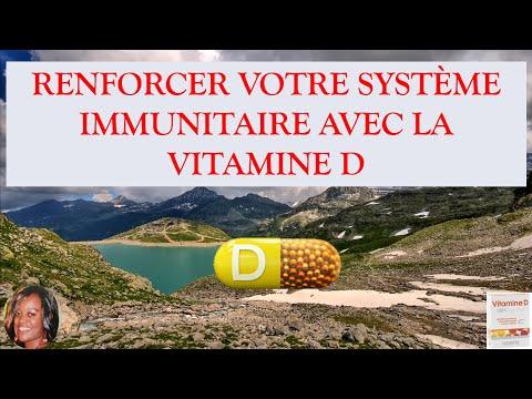 La vitamine D renforce le système immunitaire contre le coronavirus