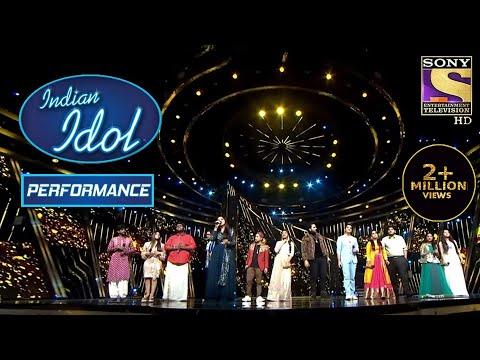सारे Contestants ने Alka, Udit और Kumar Sanu को दिया एक Tribute! | Indian Idol Season 12