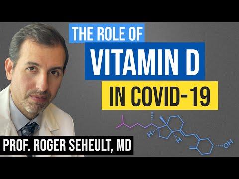 Vitamine D en COVID 19: het bewijs voor preventie en behandeling van coronavirus (SARS CoV 2)